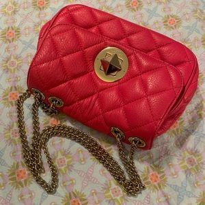 Kate Spade kristy pink quilted crossbody